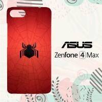 Casing Asus Zenfone 4 Max Custom HP Spiderman Homecoming Logo LI0116