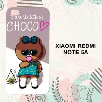 Casing Xiaomi Redmi Note 5A Custom HP Brown is Little Sis Choco L0605