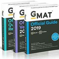 Bundle 3 Buku GMAT Official Guide, Quant and Verbal 2019