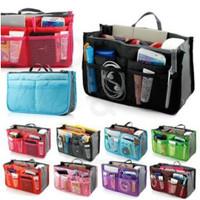 76 fashion TAS Korea Dual Bag Tas Organizer Bag in Bag (WRF12)