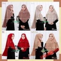 Miami Bergo Syari original Danisha Hijab