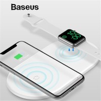 Baseus Airpower 2 in 1 Wireless Charging Pad for Apple Watch & iPhone