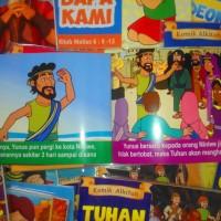 Paket Komik Alkitab Anak (104 buku)