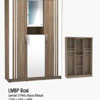 Lemari panel olympic g-star series 3 pintu