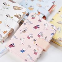 Diary / Buku Tulis Lovely Cat Cover Kulit