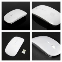 New Terbaru Apple Magic Mouse Wireless 2.4Ghz Macbook Laptop With