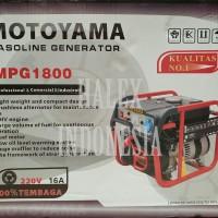 Generator Motoyama Max 1200 Watt ~ Rated 1000 Watt Genset Bensin 4 Tak