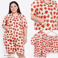 Piyama BIGSIZE motif Strawberry