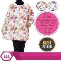 Baju Jumbo Atasan Harga Murah Katun motif Bunga Cantik