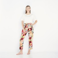 Comfy Pants Abstract Flower Painting