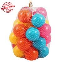 mainan mandi bola warna warni isi 25 pcs