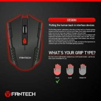 w4 mouse wireless gaming 2.4ghz - for laptop pc macbook smart tv box