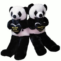 BONEKA PANDA SUPER BIG JUMBO 150 CM SUPER BESAR BORDIR LOVE NAMA f96994605b