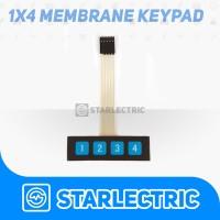 Membrane Keypad 1x4 Button 4 Arduino