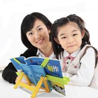 HBS2017 Bookstand Portable Rak Alat sandaran buku, tab, iPad