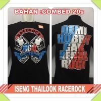 baju / kaos distro motor drag balap racing - iseng thailook racerock