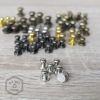 Stud - Mur Keling - Baut Pentol Nickle 6mm 12pcs