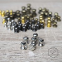 Stud - Mur Keling - Baut Pentol Nickle 9mm 12pcs