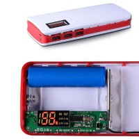 Case Power Bank 3 USB Port with LCD Display BARU