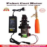 Harga alat steam motor mobil ac cuci jet cleaner pompa dc 12v | Hargalu.com