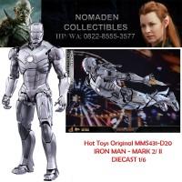 Hot Toys Original MMS431-D20 IRON MAN - MARK 2/ II 1/6 DIECAST