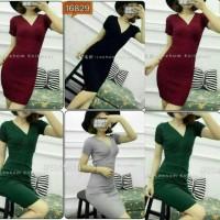 Dress Rajut Import / Knitted Dress / Dress Rajut Murah / Baju Murah