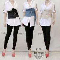 kode K1081 Obi Belt Only cotton import Premium