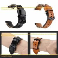Gentel Leather Strap Samsung Gear S3 - Cokelat Muda