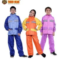 Jas Hujan Stelan Anak Tiger Head Metro Kids 311/Axio Ukuran Anak2