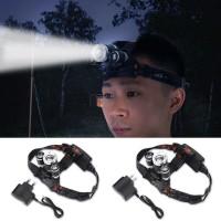 Lampu Senter Kepala Multifungsi LED Infrared Zoomable Yukngimport