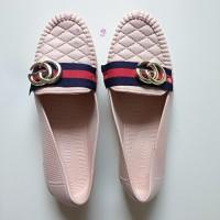 Sepatu Karet Wanita Flatshoes Cewek Sepatu Perempuan