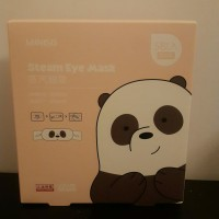 Miniso Steam Eye Mask We Bare Bear isi 5 Sachet Original Miniso