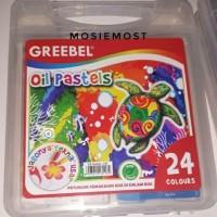 Crayon Greebel Oil Pastels isi 24 Warna
