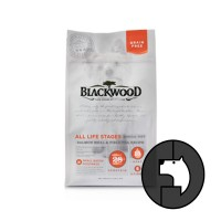 blackwood 2.2 kg all life stages salmon meal and field pea recipe