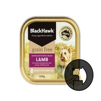 blackhawk 100 gr dog australian pasture grazed lamb grain free