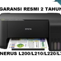 Epson L3110 Printer Dokumen/Foto Multifungsi Print Scan Copy/Fotokopi