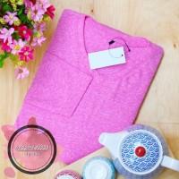 Baju Blouse / Kaos Polos Lengan Panjang Wanita Atasan Murah