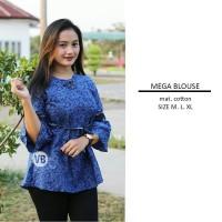 Baju Batik Atasan Wanita Blus Batik Remaja Wanita Kekinian SSA9