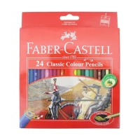 murah Faber Castell Pensil Warna Set 24 Warna