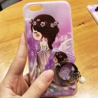 casing hp FOR OPPO A39/A57, NEO 9/A37, F3 PLUS - BEAUTY GIRL WITH