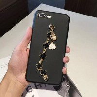 casing hp FOR OPPO F5, A71 - FOUR LEAF CLOVER RED BLACK MATTE SOFT