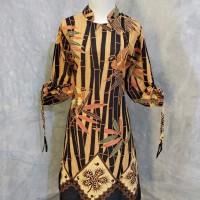Tunik motif bambu