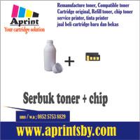 Serbuk Toner + Chip Xerox 3119 Refill Printer Laserjet Mono