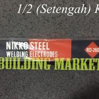 Kawat Las Welding Electrode Nikko Steel RD-260 2.0 x 300 mm @1/2 Kg