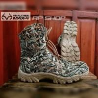 Sepatu Hunting/Outdoor Motif Realtree Max-4