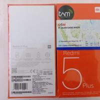 HP XIAOMI REDMI 5 PLUS RAM 3GB ROM 32GB GARANSI RESMI TAM