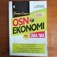 Buku Olimpiade - Buku Pena Emas OSN Ekonomi SMA Edisi Kedua