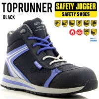 Jogger TopRunner Sepatu Safety Shoes Metal Free Composite Top Runner