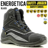 Jogger Energetica Black Hitam Sepatu Safety Shoes Metal Free Composite