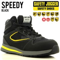 Jogger Speedy Sepatu Safety Shoes Metal Free Composite Heat Resistant